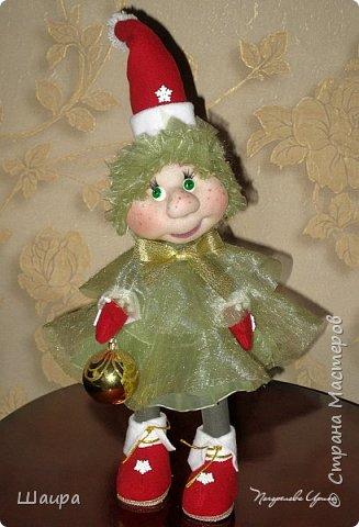 Кукла 43 см. Голова и руки из капрона, тело и ножки из ткани.  фото 1