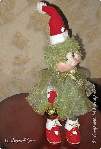 Кукла 43 см. Голова и руки из капрона, тело и ножки из ткани.  фото 10