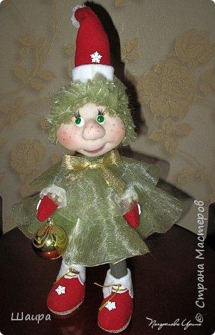Кукла 43 см. Голова и руки из капрона, тело и ножки из ткани.  фото 12