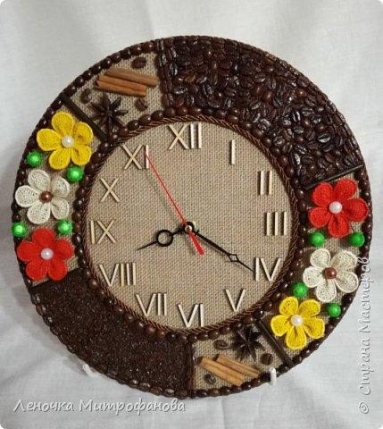 Часы из кофе))) фото 2