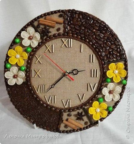 Часы из кофе))) фото 1