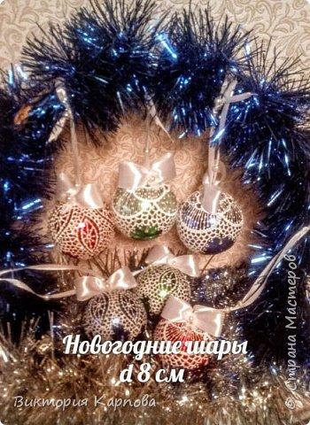 Новогодние шары фото 1