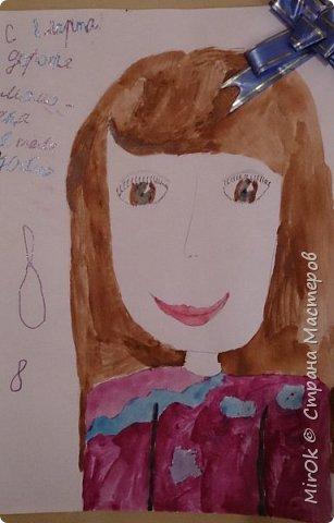 """Здравствуй """"Страна Мастеров"""" Хочу поделится рисунками своей дочки. Рисует она почти с пелёнок, ну 1,5 лет точно. Хочу показать вам некоторые рисунки: 1 Первый рисунок """"Сказки зимнего леса"""", рисовала в 10 лет в школу на конкурс, получила первое место. фото 19"""