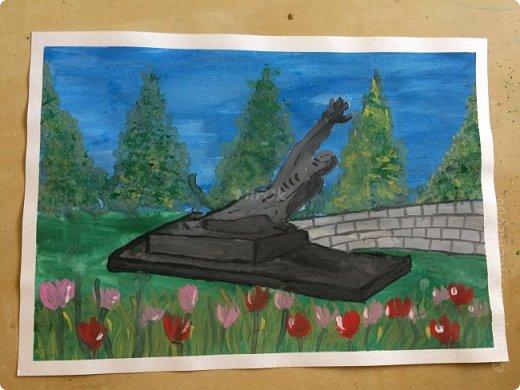 """Здравствуй """"Страна Мастеров"""" Хочу поделится рисунками своей дочки. Рисует она почти с пелёнок, ну 1,5 лет точно. Хочу показать вам некоторые рисунки: 1 Первый рисунок """"Сказки зимнего леса"""", рисовала в 10 лет в школу на конкурс, получила первое место. фото 6"""
