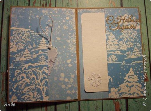 Сделала две открыточки с шейкерами. Наполнитель- прозрачный микробисер. Шуршит и сияет:)) Бумага Скрапбериз. Размер открыток 10,5на 14,8 см. фото 5