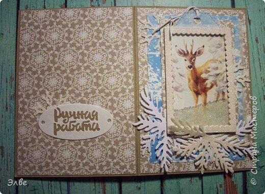 Сделала две открыточки с шейкерами. Наполнитель- прозрачный микробисер. Шуршит и сияет:)) Бумага Скрапбериз. Размер открыток 10,5на 14,8 см. фото 6