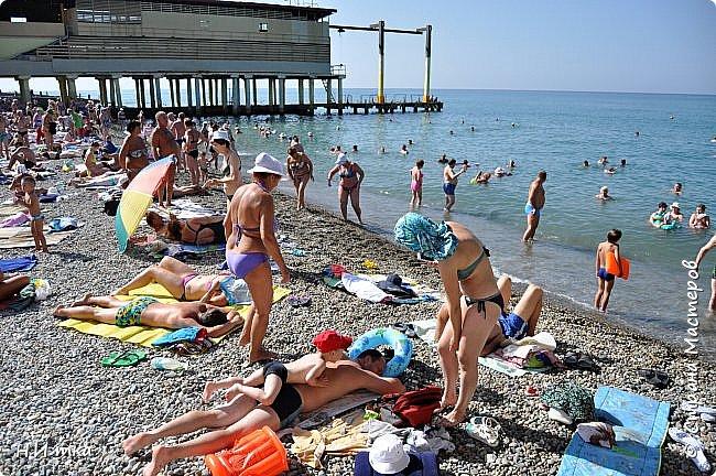 Побывала я нынче в тёплых краях в сентябре. В моей ладони ракушечник с пляжа Азовского моря.  Начну с Краснодара, и расскажу всё по порядку. фото 17
