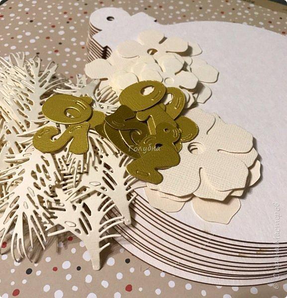 """Продолжаю сама готовиться к Новому году  и помогаю другим:)  Сегодня провела мк по открытке / карточка """" Новогодний шар"""".  фото 12"""