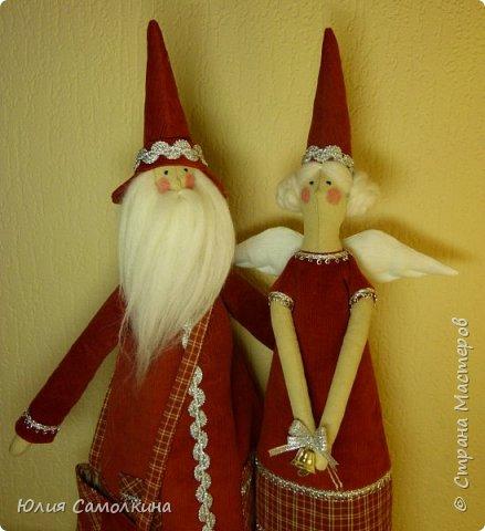 Санта Клаус и Рождественский Ангел фото 3