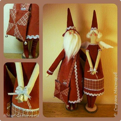 Санта Клаус и Рождественский Ангел фото 1
