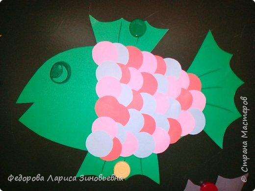 Здравствуйте. Скоро у нас наступит долгожданный праздник - Новый год. Все ребятишки начинают писать письма Деду Морозу. А мы решили с первоклассниками сделать на уроках технологии рыбок желаний. И загадать ей своё желание. чтобы она исполнила.  фото 3