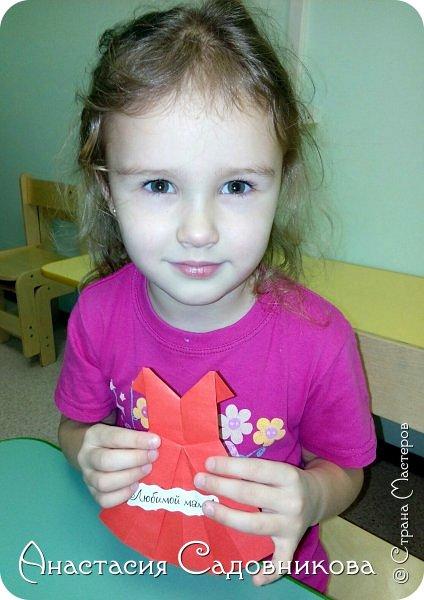 """Оригами """"Платье"""" фото 4"""