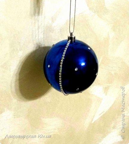 Всем здравствуйте!  Оформила еще несколько шариков новогодних и в садик на выставку ёлочку. фото 10