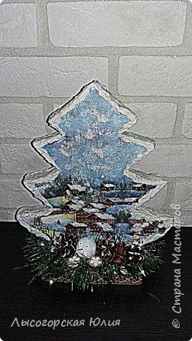 Всем здравствуйте!  Оформила еще несколько шариков новогодних и в садик на выставку ёлочку. фото 2