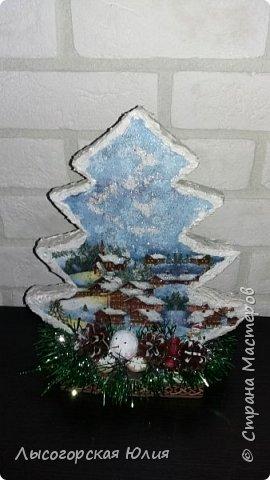 Всем здравствуйте!  Оформила еще несколько шариков новогодних и в садик на выставку ёлочку. фото 4