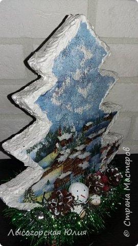Всем здравствуйте!  Оформила еще несколько шариков новогодних и в садик на выставку ёлочку. фото 3