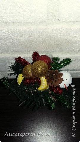 Всем здравствуйте!  Оформила еще несколько шариков новогодних и в садик на выставку ёлочку. фото 7