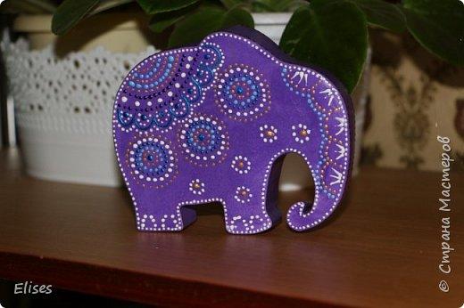 Вдохновили работы Натальи Литвиновой http://stranamasterov.ru/node/1122063. И это мой первый слоник. Очень понравилось его делать. Спасибо Наталья. фото 2