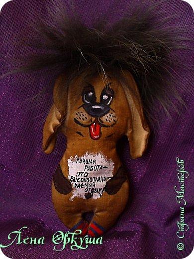 Мои Новогодние Кофейные позитивные Собачки! С приятным ароматом кофе и ванили! С магнитиком. фото 3