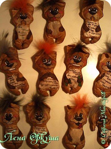 Мои Новогодние Кофейные позитивные Собачки! С приятным ароматом кофе и ванили! С магнитиком. фото 8
