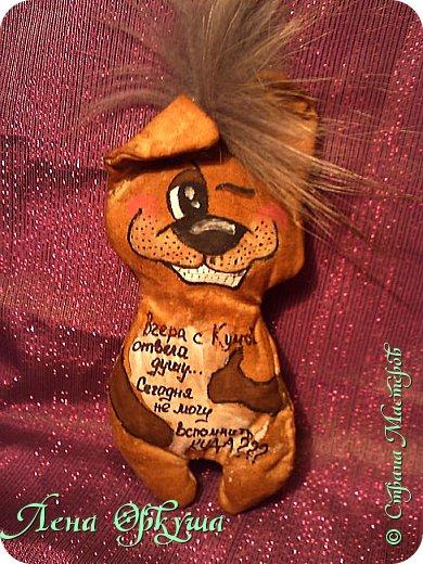 Мои Новогодние Кофейные позитивные Собачки! С приятным ароматом кофе и ванили! С магнитиком. фото 1