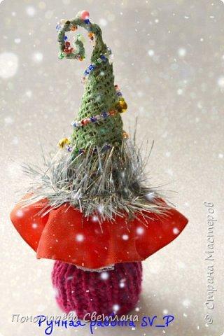 Готовимся к Новому Году. Очаровательные, маленькие сувенирные ёлочки. Подготовлены к Рождественской ярмарке.  фото 3