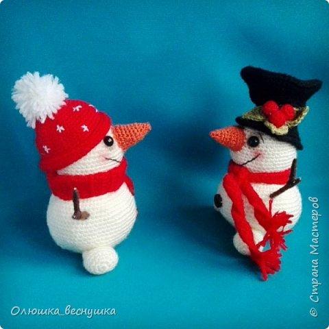 Братцы - снеговики.    фото 2