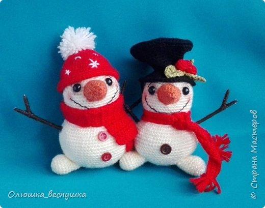 Братцы - снеговики.    фото 1