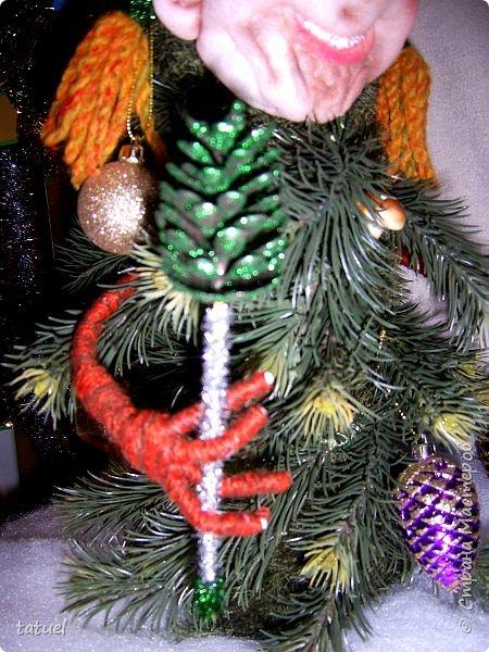 Всем добрый вечер! Сейчас маленькая подборка работ к Новому Году.  Это снежинки новогодние- в виде подвеса на стену или елку. фото 9