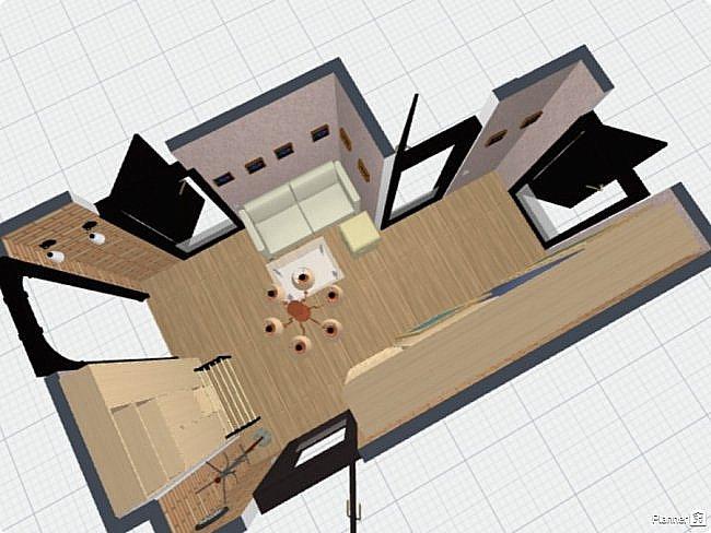 Коридор  — длинный проход внутри здания или жилого помещения, соединяющий комнаты на одном этаже. Коридоры, наряду с комнатами, которые они соединяют и лестницами... Тут должна быть фотография готовой работы. фото 6