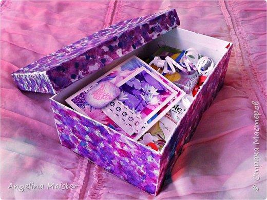 Видео.DIY подарочная коробка на 14 февраля❤
