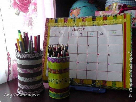 Видео.DIY : Календарь - органайзер.