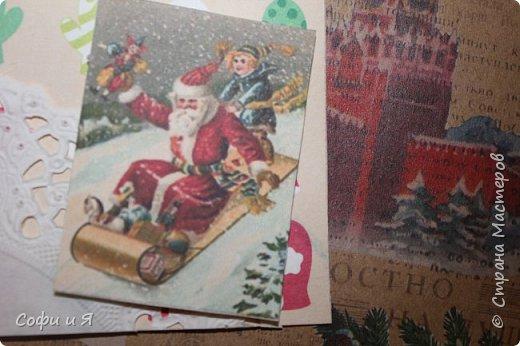 Привет всем..Ну в общем вот..Сегодня еще только 3 декабря..Но вот такие новогодние карточки у меня  получились... Выбирайте.. №1 для- zabawulaj фото 2