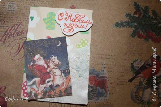 Привет всем..Ну в общем вот..Сегодня еще только 3 декабря..Но вот такие новогодние карточки у меня  получились... Выбирайте.. №1 для- zabawulaj фото 3