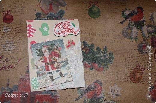 Привет всем..Ну в общем вот..Сегодня еще только 3 декабря..Но вот такие новогодние карточки у меня  получились... Выбирайте.. №1 для- zabawulaj фото 4