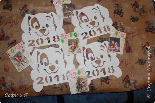 Привет всем..Ну в общем вот..Сегодня еще только 3 декабря..Но вот такие новогодние карточки у меня  получились... Выбирайте.. №1 для- zabawulaj фото 7