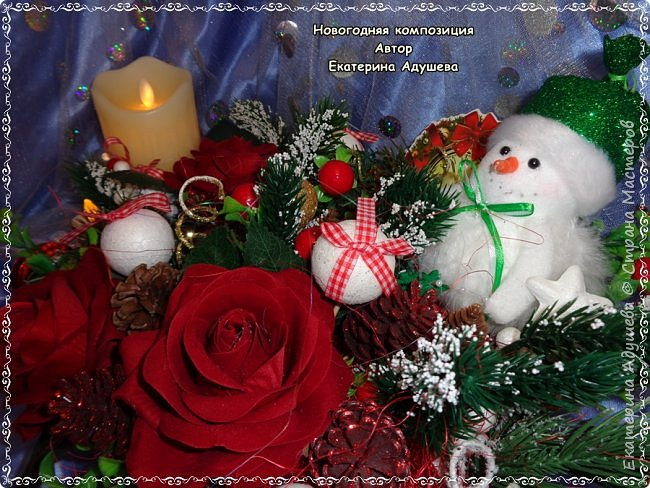 Здравствуйте все кто заглянул на маю страничку ну вот готова еще одна моя работа, Рождественский венок из джута. фото 8