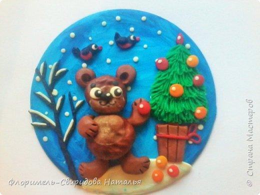 Все медведи спят зимой, Но не спит лишь мишка мой. Будет ёлку наряжать, С нами праздник отмечать. фото 10