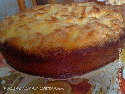 Сахарный пирог - невозможная вкуснятина, больше на торт похож. фото 2