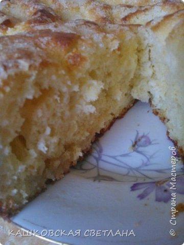 Сахарный пирог - невозможная вкуснятина, больше на торт похож. фото 3