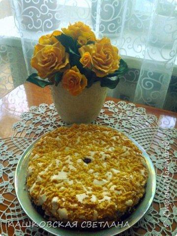 Сахарный пирог - невозможная вкуснятина, больше на торт похож. фото 6