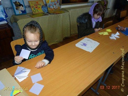 Маленькая снежинка Миланы, жёлтая Кристины  и бело-фиолетовая, хотя по фото этого и не скажешь, Даши. фото 2