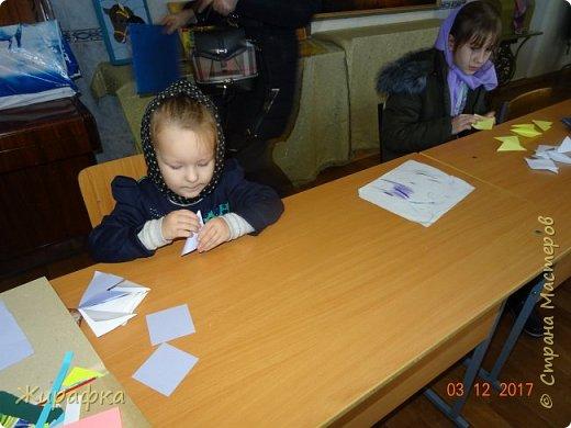 Маленькая снежинка Миланы, жёлтая Кристины  и бело-фиолетовая, хотя по фото этого и не скажешь, Даши. фото 3