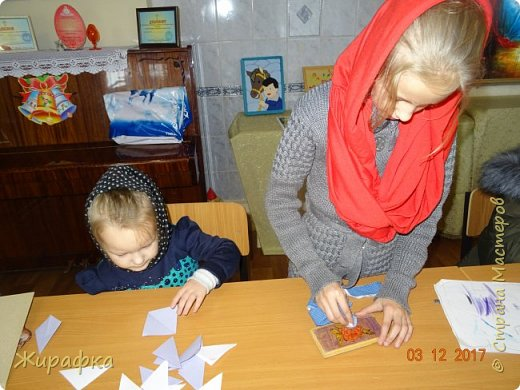 Маленькая снежинка Миланы, жёлтая Кристины  и бело-фиолетовая, хотя по фото этого и не скажешь, Даши. фото 5