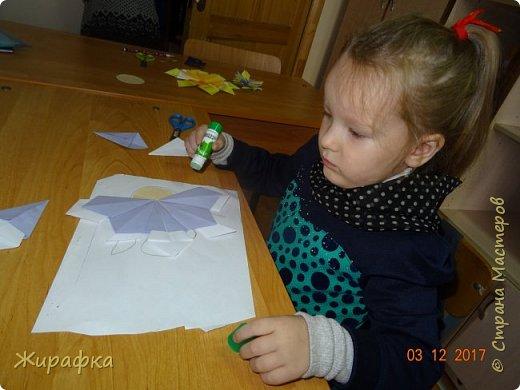 Маленькая снежинка Миланы, жёлтая Кристины  и бело-фиолетовая, хотя по фото этого и не скажешь, Даши. фото 9