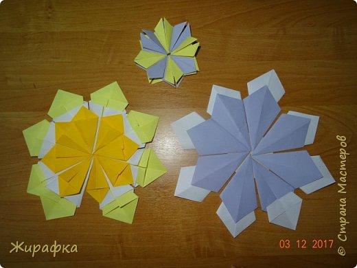 Маленькая снежинка Миланы, жёлтая Кристины  и бело-фиолетовая, хотя по фото этого и не скажешь, Даши. фото 1