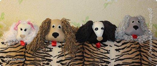 Доброго дня, рукодельницы! А я сегодня сотворила вот таких домашних любимцев!!! Это собачки-марионетки.  ТОБИК фото 3