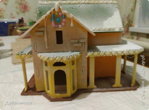 Решила сделать для внука Рождественский городок. фото 3