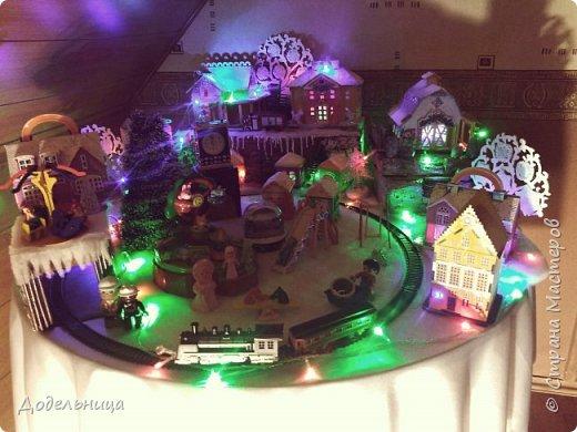 Решила сделать для внука Рождественский городок. фото 8