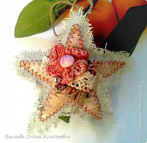"""Здравствуйте, дорогие жители """"Страны Мастеров""""! Хочу показать вам подвески- звёзды, которые сделала по МК замечательной мастерицы Татьяны (Cherry Lady).  фото 15"""